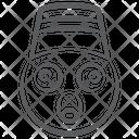 Emoticon Shocked Emoji Offended Emoji Icon