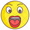Shocked Emoji Shocked Expression Emotag Icon