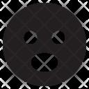 Shocked Face Emoji Icon