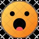 Shocked Face Emoji Face Icon
