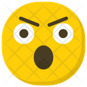 Shocked Face Hushed Face Emoticon Icon