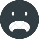 Shocked face Icon