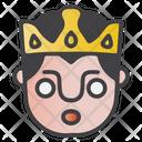 Shocked King Icon