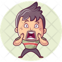 Shocked Man Icon