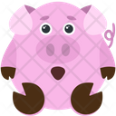 Shocked Piggy Icon