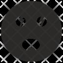 Shock Face Emoji Icon