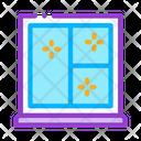 Shockproof Glass Window Icon