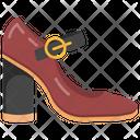 Sandal Heel Shoe Icon
