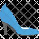 Pump Blue Shoe Icon
