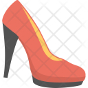 Pump Shoe Red Icon