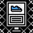 Shoe Billboard Icon