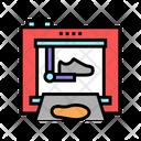 Shoe Factory Equipment Icon
