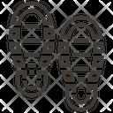 Shoe-print Icon