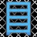 Shoe Rack Furniture Icon