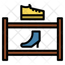 Shoe shelf Icon