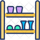 Shoe Stand Shoe Rack Showcase Icon