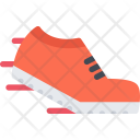 Run Shoes Athlete Icon