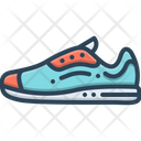 Sneakers Shoes Jogging Shoes Icon