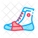 Boxing Shoes Sneakers Icon