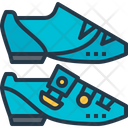 Shoes Cleats Bicycle Icon