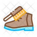 Shoe Brush Footwear Icon