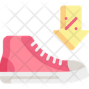 Sneaker Commerce And Shopping Footwear Icon