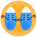 Lace Tie Prank Shoes Prank Fools Day Icon