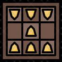Shogi Board Game Japanese Icon