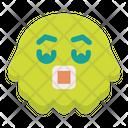 Shoked Emoticon Emoji Icon