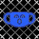 Shoked Mask Virus Icon