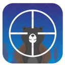 Bear Target Animal Icon