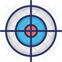 V Shoot Point Shoot Target Point Shooting Point Icon