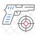 Shooter Game Shooting Icon