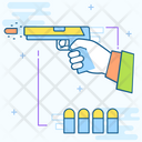 Weapon Gun Revolver Icon