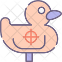 Shooting Duck Icon