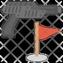 Shooting Game Gun Shooting Shooting Sport Icon