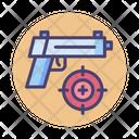 Shooting Game Ammo Game Handgun Icon