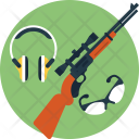 Shooting Gear Icon