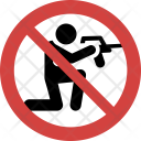Shoot Stop Allowed Icon