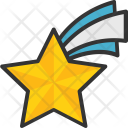 Star Shooting Falling Icon