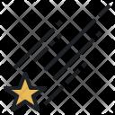 Shooting Star Sky Icon