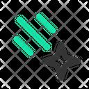 Comet Meteor Space Icon