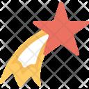 Star Rising Shooting Icon