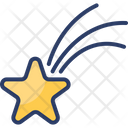 Shooting Star Falling Space Icon
