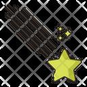 Shooting Star Star Lucky Star Icon