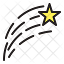 Shooting Star Space Meteor Icon