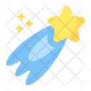 Shooting Star Star Astronomy Icon