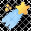 Shooting Star Star Astronomy Icon