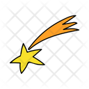 Shooting Star Star Space Icon