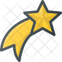 Star Shooting Holidays Icon